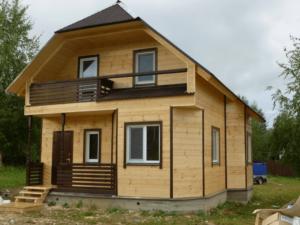 Дом из бруса с отделкой.Строительство осуществлялось в октябре 2016 года.Отделочные работы произвели в мае 2018 года